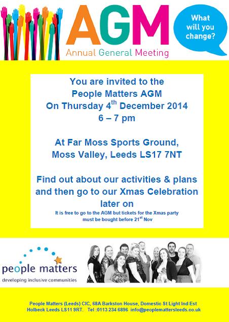 AGM 2014 poster